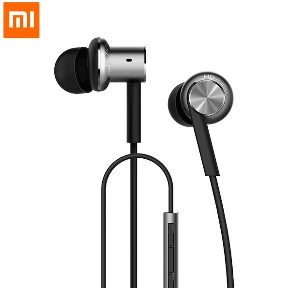Original Xiaomi Hybrid Earphone With Mic Remote Headset For Xiaomi Redmi Red Mi Mobile Phone In-Ear Computer MP3 MP4 PC 100% original xiaomi hybrid pro hd earphone with mic in ear hifi noise canceling headset circle iron mixed for xiaomi note4 mi 6