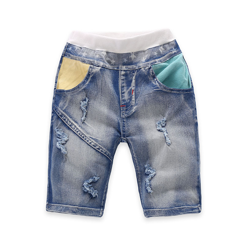 Aliexpress.com  Buy Brand 2 8Y Boys Denim Shorts Kids Pant Fashion Light Blue Jean Boy Shorts ...