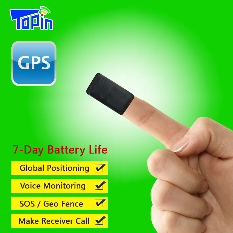 New T3 Super Mini Built-in Microphone GPS <font><b>Tracker</b></font> SOS Real-time Call Tracking Playback Web APP for Children Pets Vehicle Locator