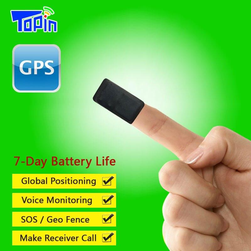 imágenes para Nueva T3 Super Mini Micrófono Incorporado GPS Tracker SOS Llamadas en tiempo Real Reproducción Tracking Web APP para Niños Mascotas Localizador de vehículo