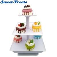 Sweettreats Trois Niveau Serveur Station-Dessert Plateau-Cupcake Stand-Alimentaire Affichage