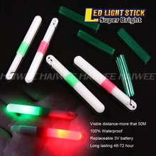 NEW 2 Shade LED fishing Mild stick 1PC Visble distance-more that 50M 100% Waterproof