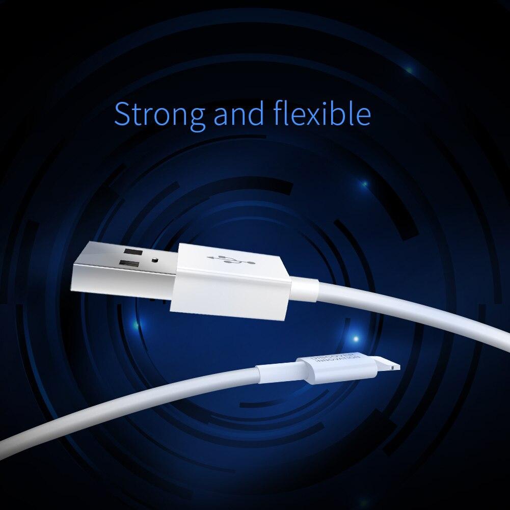 Cabo de Iluminação Nillkin 2A Fast Charge Cabo de Dados USB para o iPhone Da Apple X 8 8 Além de 7 7 Plus e tablet Android USB Cabo De Carregamento