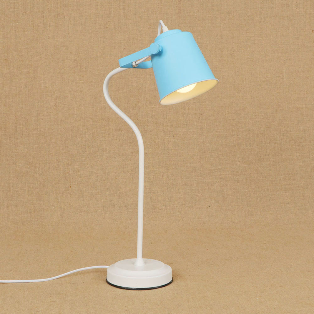 Modern colorful brief American iron table lamp E27 LED light desk lamp with switch for reading living room workroom bedside sitemap 358 xml