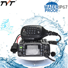TYT TH-8600 IP67 Waterdichte Dual Band 136-174 MHz / 400-480 MHz 25 W Mini Krachtige Mobiele base Radio Motorfiets Auto Truck SUV Outdoor