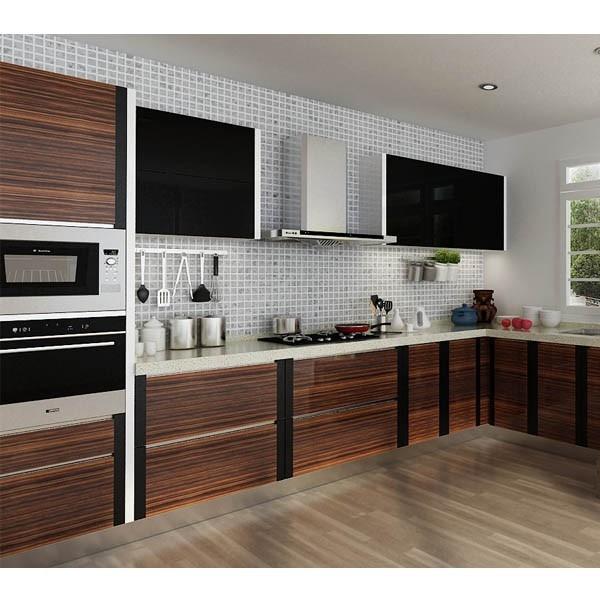 Kenya Modular Project Affordable Modern U Shaped Pvc Kitchen