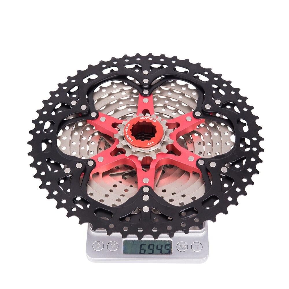 2018 nouveau vtt 11 vitesses L vtt Cassette 11 s 11-52 T large rapport roue libre VTT pièces de vélo pour shimano k7 X1 XO1 XX1 m9000