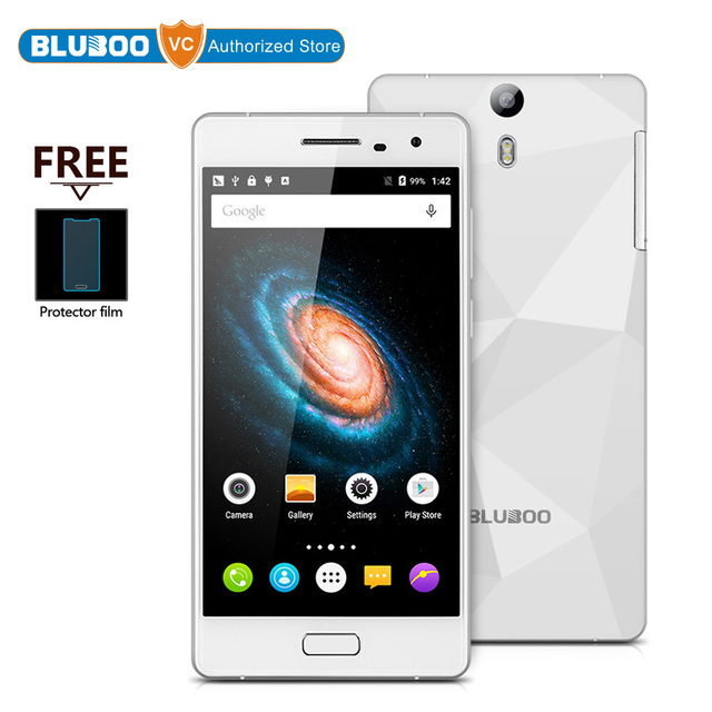 In Stock Bluboo Xtouch 5.0 inch Android 5.1 4G LTE 32GBROM 3GBRAM Smartphone MT6753 Octa Core 1.3GHz 13.0MP Camera Cellphones