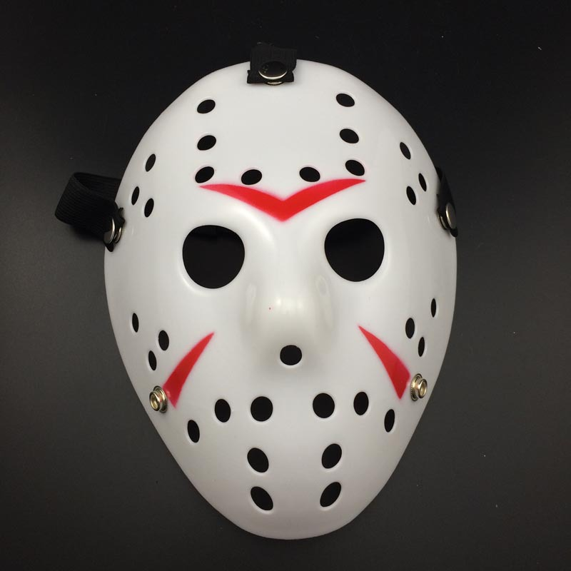 Halloween Hockey Masker.Us 3 2 11 Off Makeup Dance Jason Mask Horror Funny Mask Friday The 13th Horror Hockey Cosplay Costume Halloween Killer Mask In Party Masks From