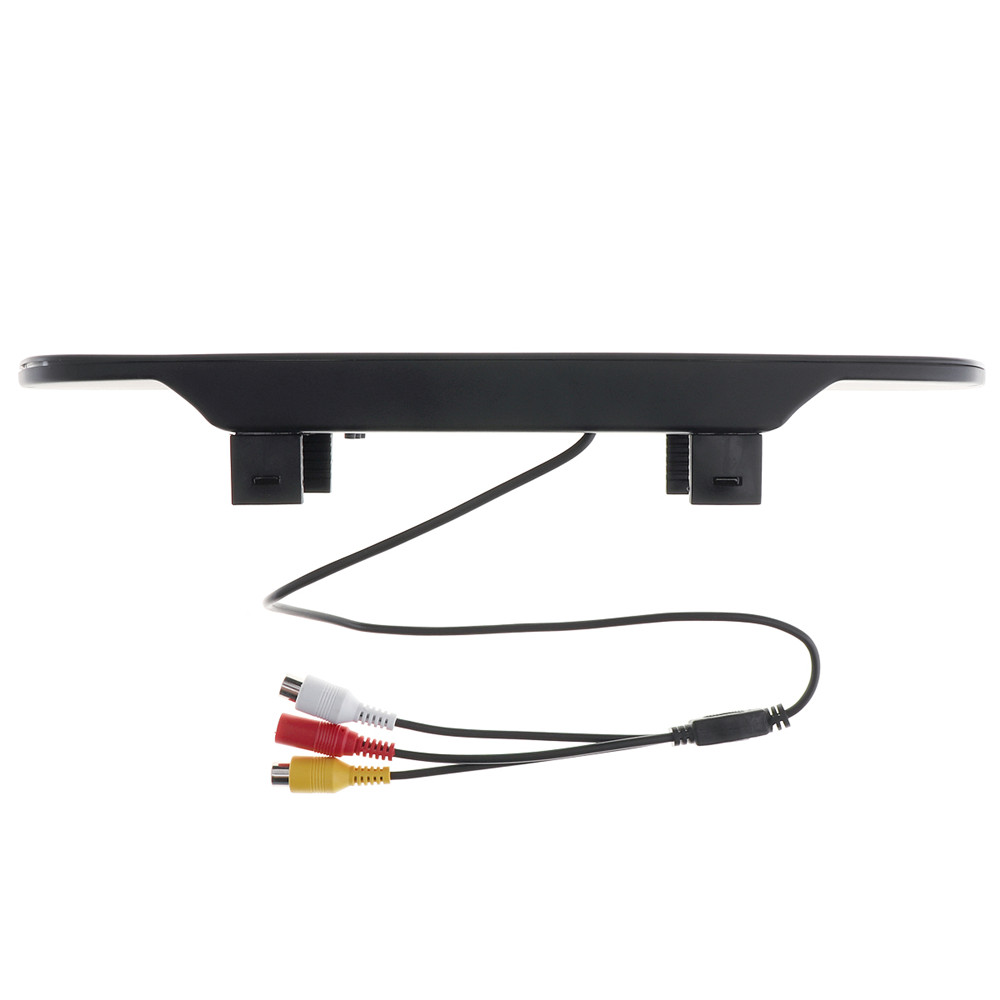 Car Mirror Monitor Super 480 x 272 Color TFT LCD Screen Wide View Angle 5 Inch Car Rear View Mirror Monitor