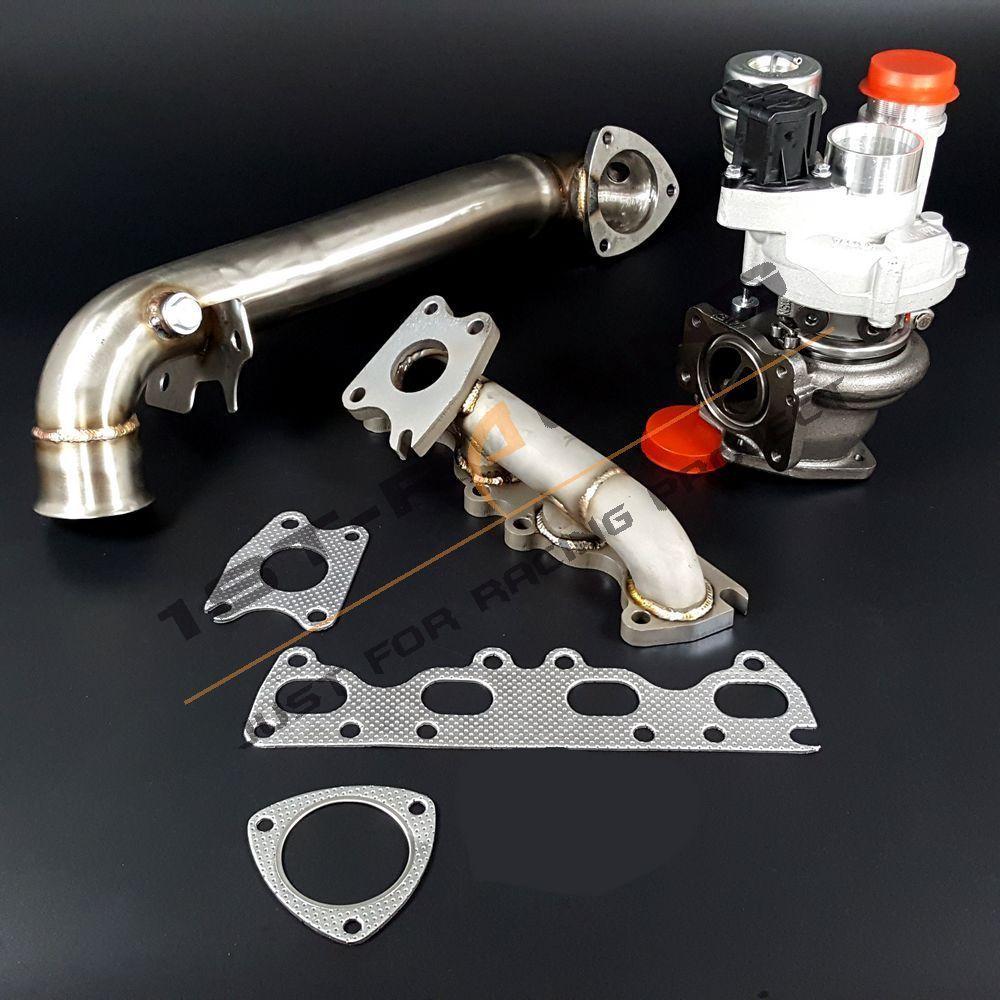 Mini Jcw Turbo Upgrade: Exhaust Manifold + Downpipe + Upgrade K04 F21M Turbo For
