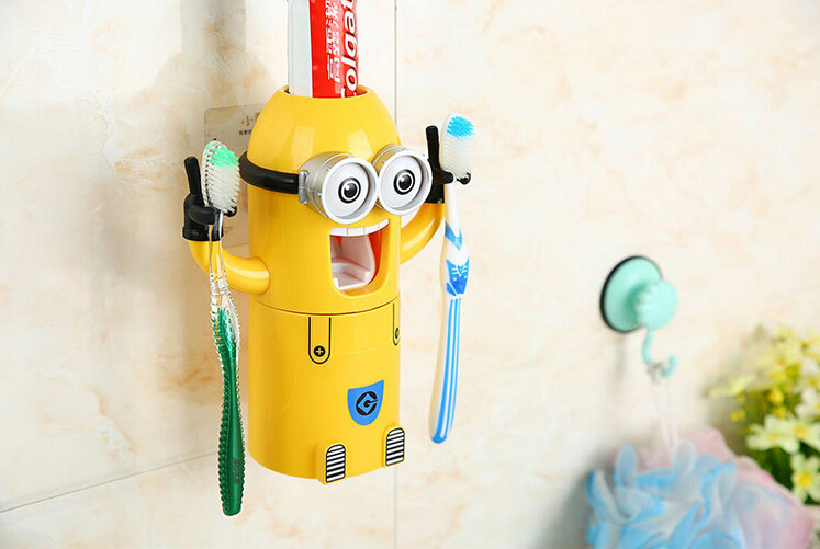Minions full automatic toothpaste squeezer cartoon Bathroom Sets toothbrush  holder automatic toothpaste dispenser. Online Get Cheap Full Bathroom Sets  Aliexpress com   Alibaba Group