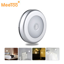 PIR Motion Sensor Under Cabinet Light Auto Smart Night Lamp Lampada LED Lights For Home Bedroom Closet Kitchen Wardrobe Light(China)