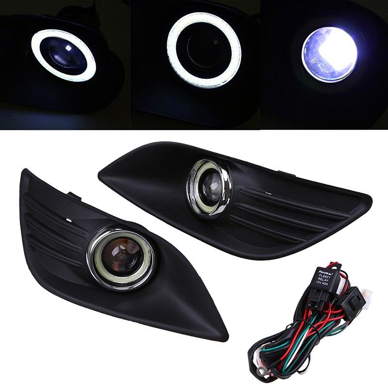 Auto Car DRL LED Light Daytime Running Light Car Front Light Foglamp Fit for Ford Focus