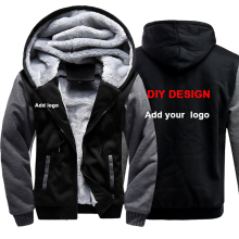 Customized LOGO Men Hoodies Sweatshirts Personalized Printed Design DIY Mens Custom Jackets US Size Coats Drop shipping