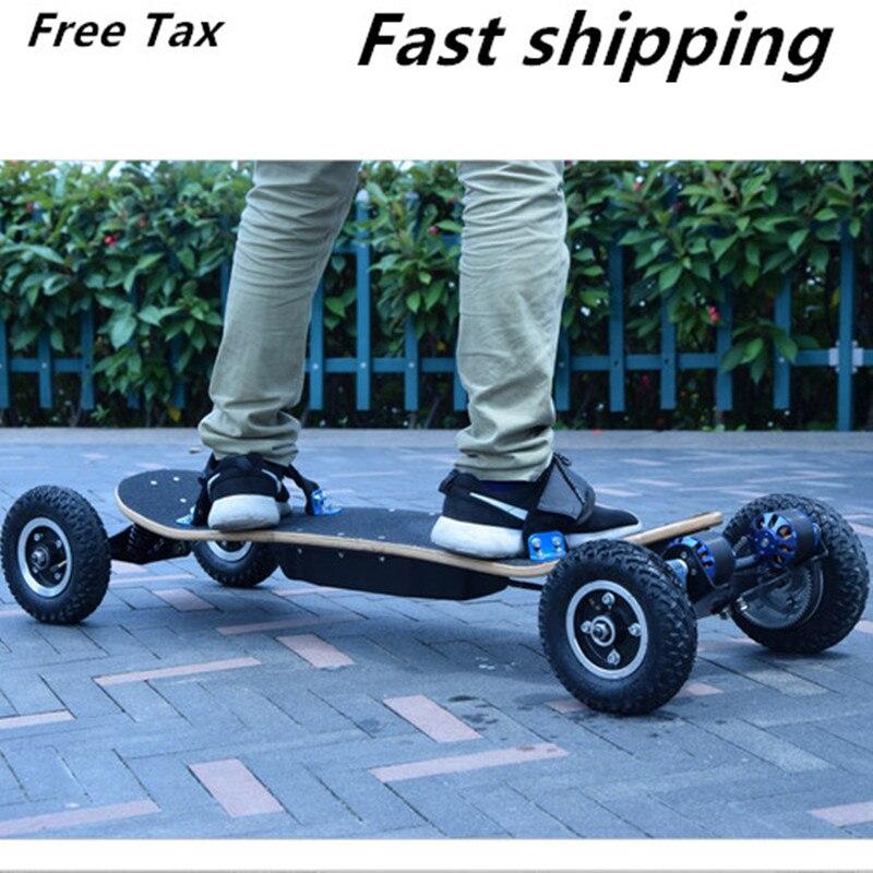 off road electric skateboard dual hub motor boosted board. Black Bedroom Furniture Sets. Home Design Ideas