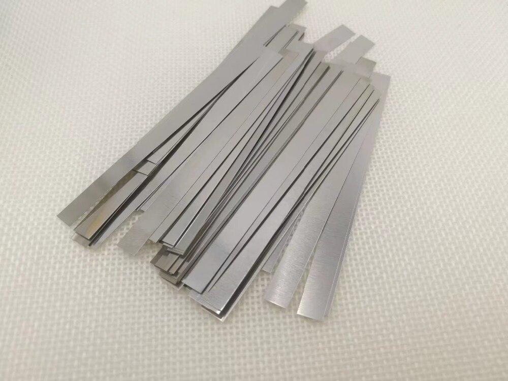 20 PCS 18650 Rechargeable Batteries Nickel Spot Welding Nickel Battery Protective Plate Nickel Plated Steel Belt