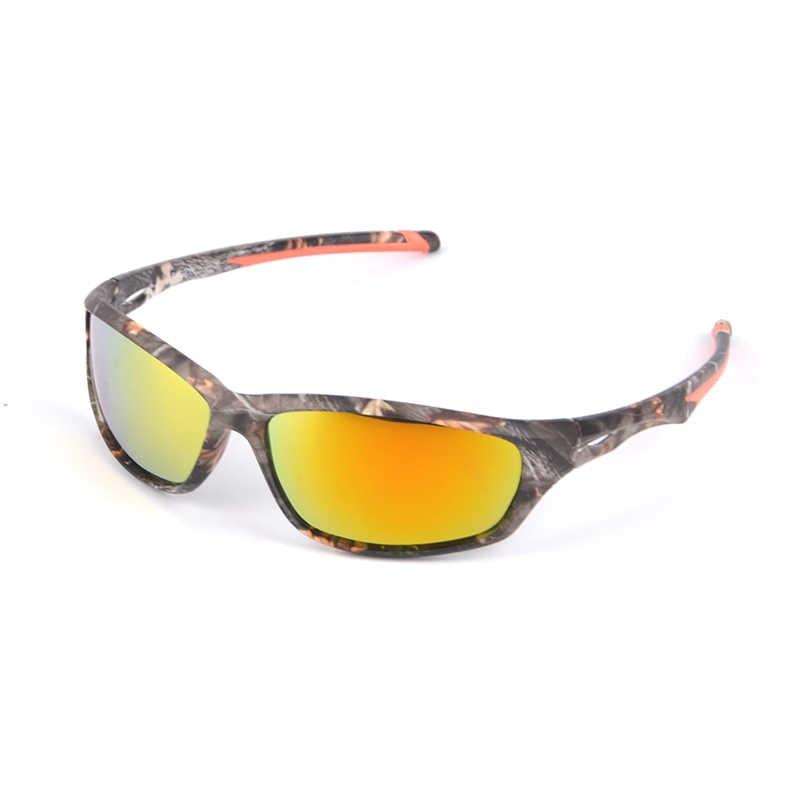 67163eda00 2018 nuevo TAGION polarizadas Gafas camuflaje rectángulo militar Gafas De Sol  para CS juego De guerra