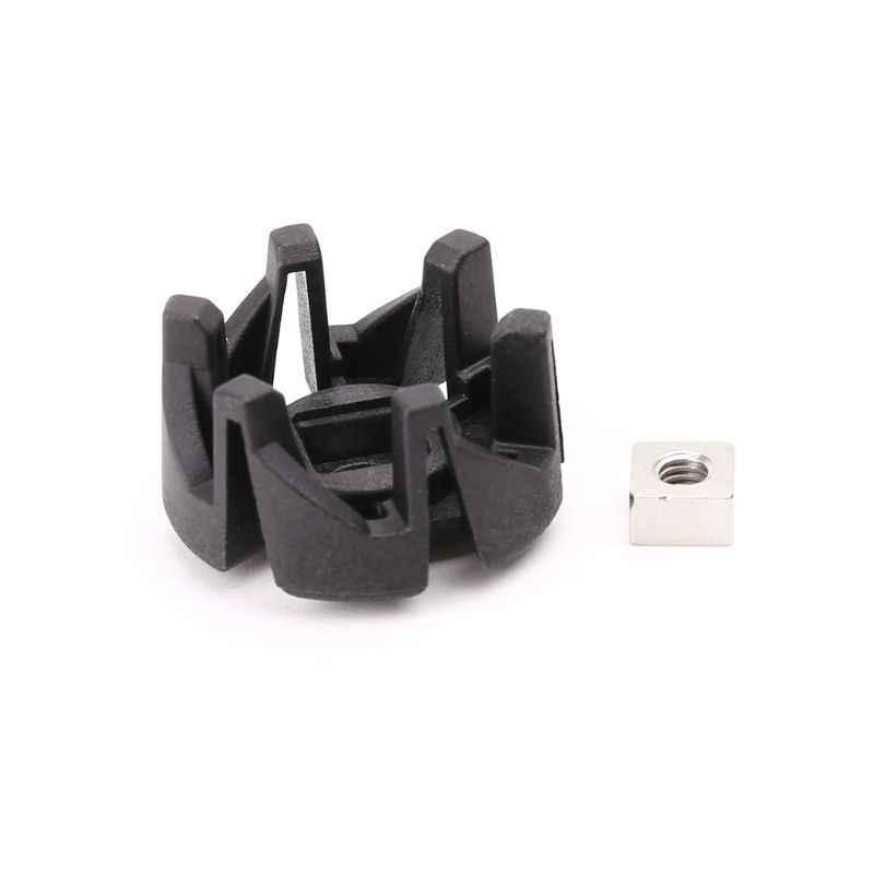 1 Pc Plástico Lâmina Eixo Pé Assento Peças Liquidificador Para HR2003 HR2004 HR2006 HR2024 HR2027