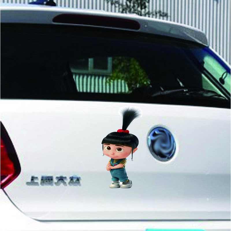 Minions Despicable Me Agnes Car Stickers Clever Girl Sticker Decal - Minion custom vinyl decals for car