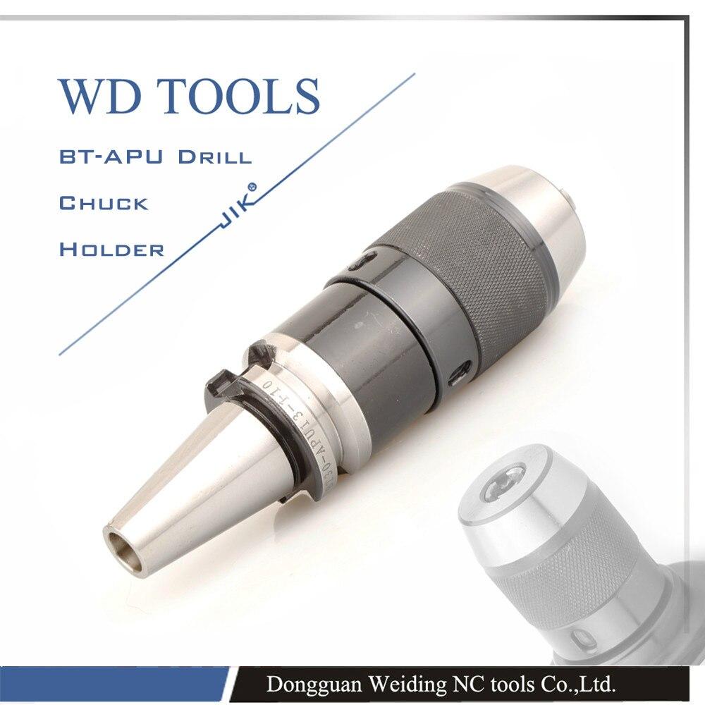 ФОТО BT30-APU13-100 keyless drill chuck with high precision 0.05mm