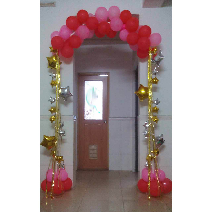 Wedding decorations narrow door Balloon arch base & pole ...
