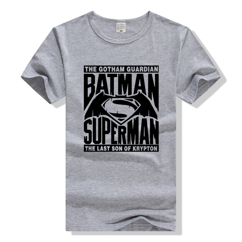 c3856ae6 Men Women T Shirt Cotton Tshirt Batman v Superman The Gotham Guardian vs  The Last Son of Krypton-in T-Shirts from Men's Clothing on Aliexpress.com |  Alibaba ...