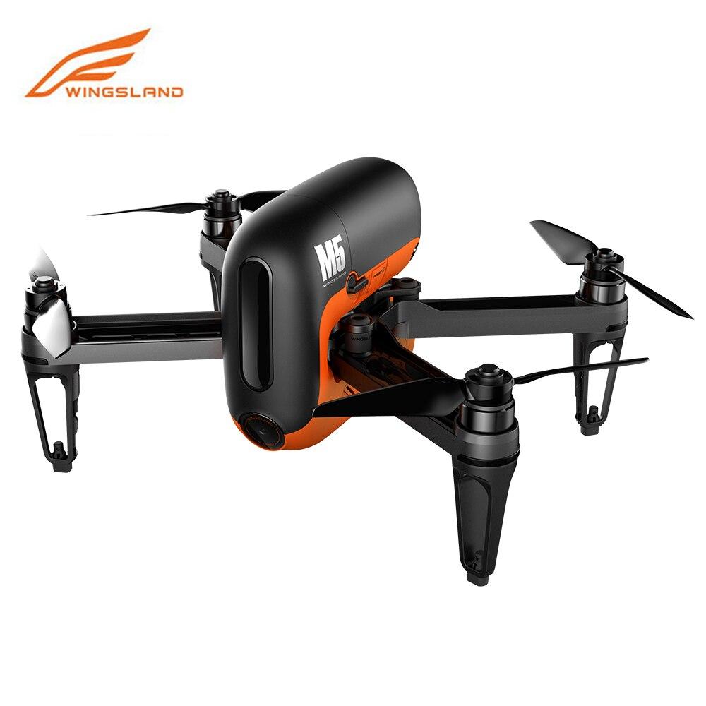 Wingsland M5 HD Camera Drone 720P FPV Wifi Selfie Smart Drones GPS RC Quadcopter Multicopter Quad Dron VS DJI Mavic Pro