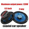 2 way 2x120W 6.5 inch car stereo horn Good quality fashion design speakers for all cars coaxial car speaker Authentic car audio