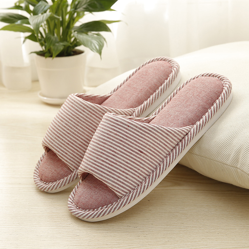 2018 Soft Cotton Slippers Women Shoes Non Slip House Home