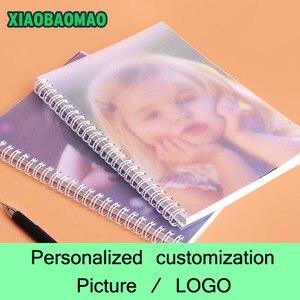 Спиральный блокнот с индивидуальным рисунком/фотографией/логотипом