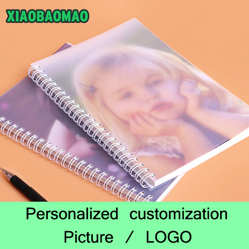 Custom coil notebook Spiral Notepad Personalized Customized Picture / Photo / LOGO custom coil notebook spiral notepad personalized customized picture photo logo