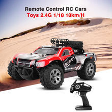 Hot Sales Remote Control RC Cars Toys 2.4G 1/18 18km/H Drift Off-Road Car Desert Truck RTR Toy Christmas Xmas Kids Child Gifts