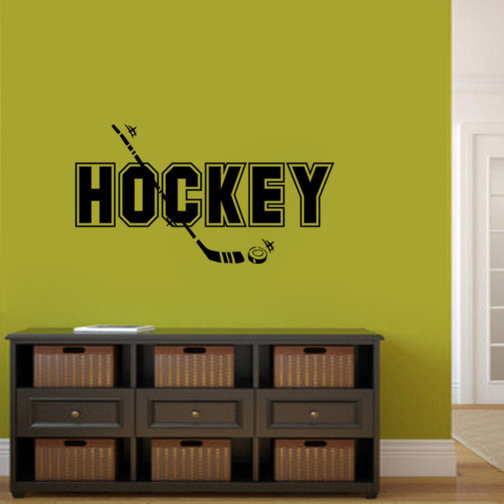 Old Fashioned Hockey Silhouette Wall Decor Model - The Wall Art ...
