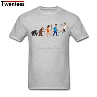White Short Sleeve Custom Evolution Handball Comic Tee Shirt Men Crazy Plus Size His And Hers