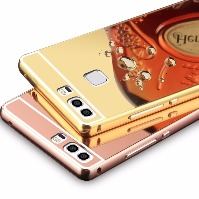 separation shoes cd9c4 22515 US $3.49 |Mirror case For Huawei P10 P9 Lite plus P7 P8 Lite Nova lite Plus  6X Aluminum Metal Acrylic Back Cover For honor 4x 5x 5c v8-in Fitted Cases  ...