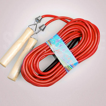 5m 7m 10m Student Group Jump Rope Wood Handle Fitness Body Building Skip