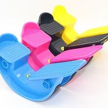 Рокер для ног ABS приспособление для растяжки ног икры лодыжки стрейч баланс доска массаж педаль для фитнеса носилки подошв для йоги фитнеса