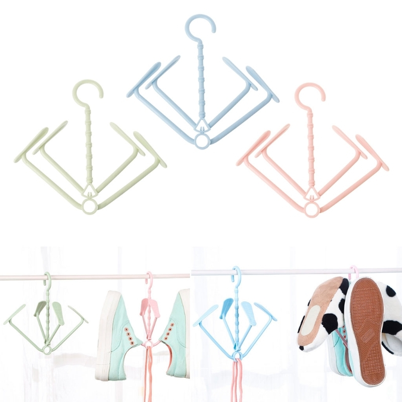 NEW Shoes Drying Rack Holder Hanger Windproof Laundry Hanging Home Closet Organizer Hot sale Fashion