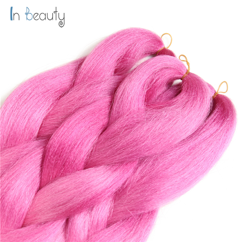 Low temperature synthetic braiding hair ombre color pink light low temperature synthetic braiding hair ombre color pink light pink braiding hair synthetic hair extension kanekalon hair on aliexpress alibaba group pmusecretfo Images