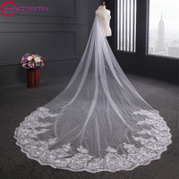 Bridal Veils Short White Ivory Bride Soft Net Wedding Dress Accessories Veil One Layer No Combs
