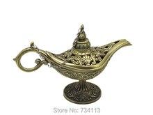Wishing Lamp Russia metal tin ( a la ding) magic lamp tea pot genie lamp vintage retro souvenir home decoration wishing lamp