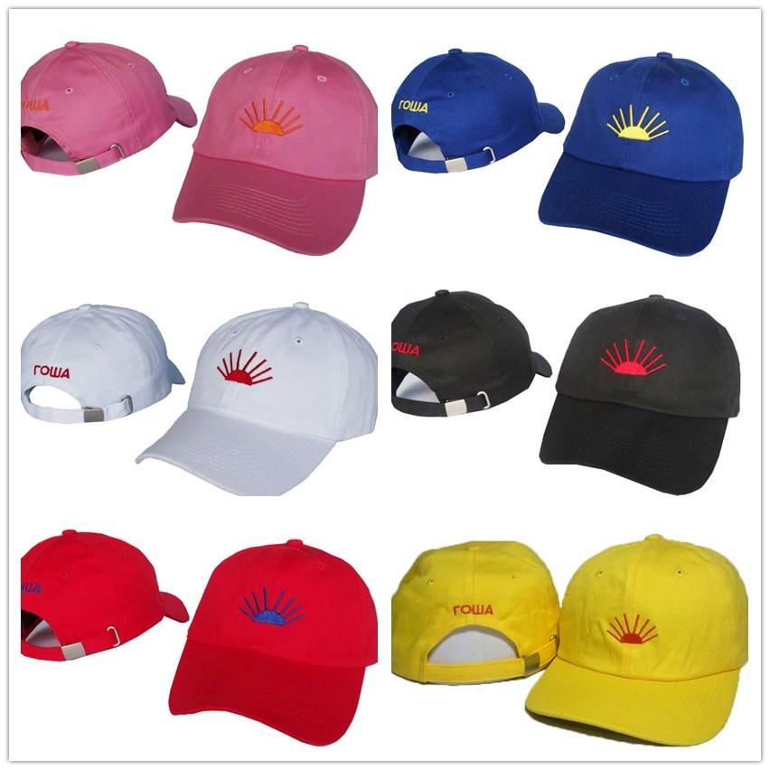 Prix pour Gosha Snapback Réglable casquette de baseball sport pour hommes et femmes soleil chapeau chapeaux os Golf Snapback Caps 6-Panel casquette de baseball