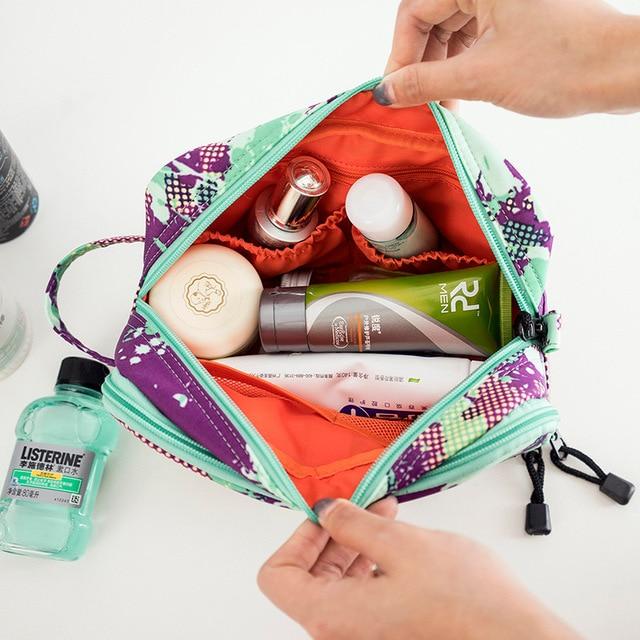 New Waterproof Men Hanging Makeup Bag Multipurpose Oxford Organizer Cosmetic Women Necessaries Make Up Wash Toiletry Toilet Bag 4
