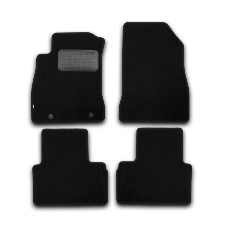 Mats in salon Klever Standard For NISSAN Juke 2010->, cross... 4 PCs (textile) недорого