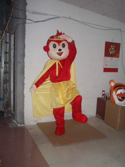 Monkey mascot costume cartoon mascot costume character costume Free Shipping