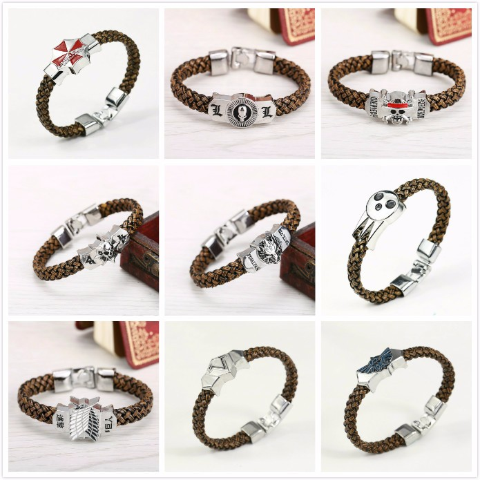 One Piece & Attack on Titan & Tokyo Ghoul & Others Bracelet
