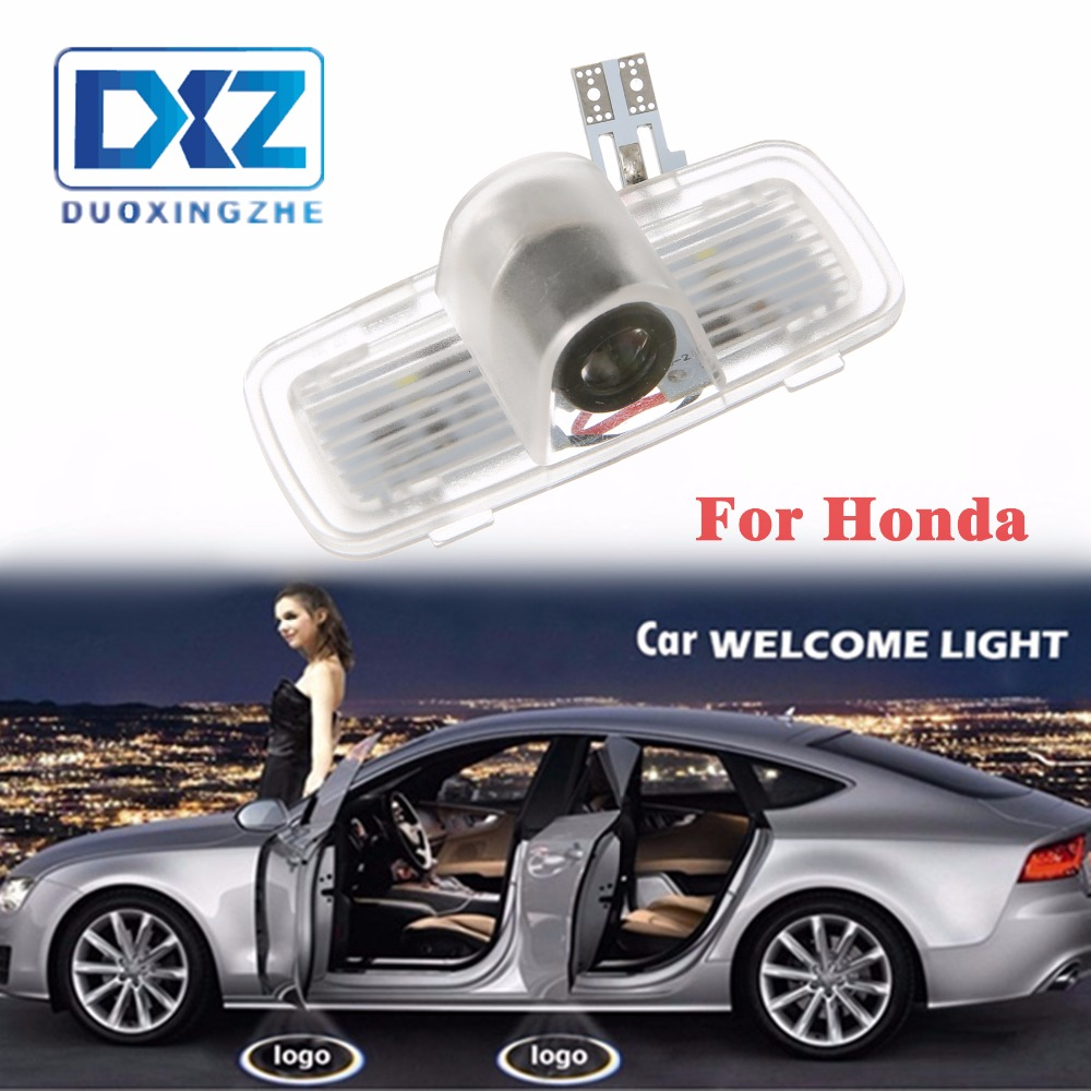 LED Car Door Welcome Laser Projector Logo Door Ghost Shadow LED Light for Honda Accord Crosstour in Decorative Lamp from Automobiles Motorcycles