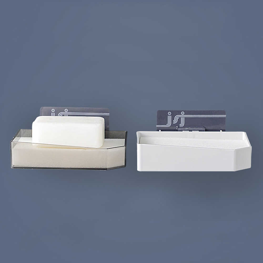 Łazienka prysznic mydelniczka pojemnik na naczynia do przechowywania płyta tacka przypadku mydelniczka łazienka taca pudełko półka przyssawki ścienne