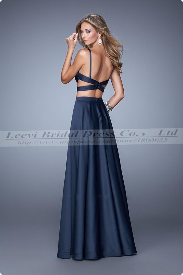 Vestidos de fiesta 2015 azul marino